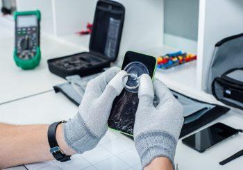 een iphone schoon maken